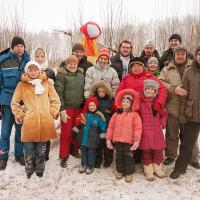 """Праздник Масленницы 2010 в поселении """"Живая картина"""""""